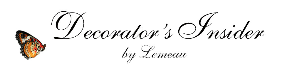 Decorator's Insider - By Lemeau